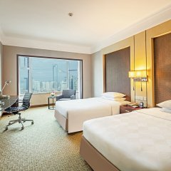 Millennium Harbourview Hotel Xiamen 4* Улучшенный номер с различными типами кроватей