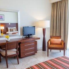 Отель JA Oasis Beach Tower Улучшенные апартаменты с различными типами кроватей