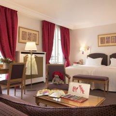 Hotel Le Littre 4* Стандартный семейный номер с двуспальной кроватью