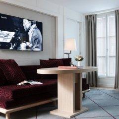 Отель Hôtel Opéra Richepanse 4* Стандартный номер с различными типами кроватей фото 8