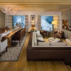 Отель Kempinski Mall Of The Emirates 5* Шале с различными типами кроватей фото 5