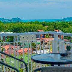 Отель The Blue вид из номера