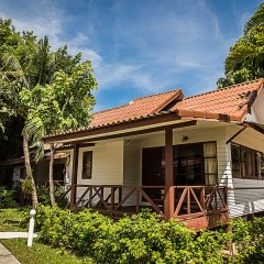 Отель Coco Palm Beach Resort 3* Бунгало Делюкс с различными типами кроватей