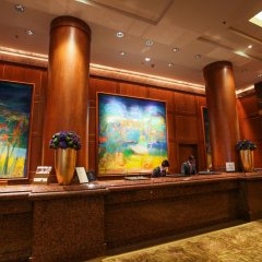 Отель Conrad Centennial Singapore ресепшен