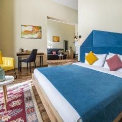 Отель Boutique Alphabet 4* Стандартный семейный номер с двуспальной кроватью фото 8