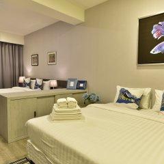 Отель Ratchadamnoen Residence 3* Улучшенный номер с различными типами кроватей