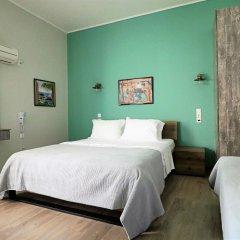 Отель Athens City Studios Студия Делюкс с различными типами кроватей