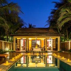 Отель le belhamy Hoi An Resort and Spa 4* Вилла с различными типами кроватей
