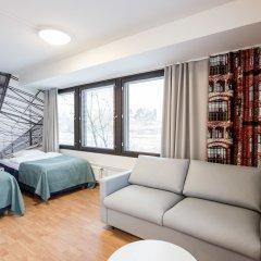 Отель Forenom Aparthotel Helsinki Herttoniemi Стандартный номер с различными типами кроватей фото 2
