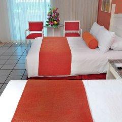 Отель Flamingo Cancun Resort Мексика, Канкун - отзывы, цены и фото номеров - забронировать отель Flamingo Cancun Resort онлайн комната для гостей фото 7