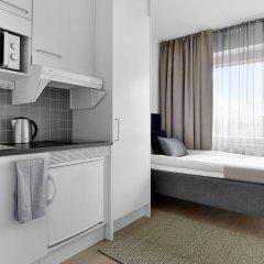 Отель Forenom Aparthotel Stockholm Flemingsberg 3* Студия Эконом с различными типами кроватей