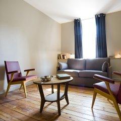 Отель Helzear Montparnasse Suites 4* Люкс с различными типами кроватей