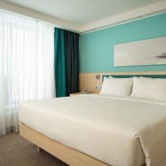 Гостиница Hampton by Hilton Moscow Strogino (Хэмптон бай Хилтон) 3* Стандартный номер разные типы кроватей фото 5