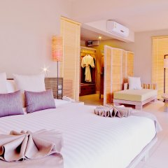 Отель Twin Lotus Koh Lanta 4* Номер Делюкс с различными типами кроватей фото 3