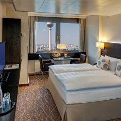 Отель Park Inn by Radisson Berlin Alexanderplatz 4* Номер Комфорт разные типы кроватей
