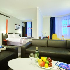 Гостиница Парк Инн от Рэдиссон Роза Хутор (Park Inn by Radisson Rosa Khutor) 4* Люкс с различными типами кроватей фото 2