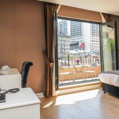 Отель Dencity 4* Улучшенный номер с 2 отдельными кроватями