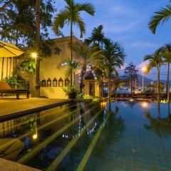 Отель Baan Yin Dee Boutique Resort переливной бассейн фото 2