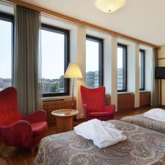 Original Sokos Hotel Vaakuna Helsinki 3* Улучшенный номер с разными типами кроватей фото 8