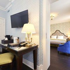 Stanhope Hotel Brussels by Thon Hotels 5* Люкс с различными типами кроватей