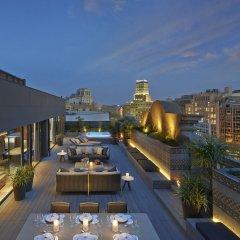 Отель Mandarin Oriental Barcelona терраса/патио
