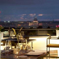 Отель Sofitel Rome Villa Borghese столовая на открытом воздухе фото 3