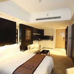Отель Marco Polo Lingnan Tiandi Foshan Улучшенный номер с различными типами кроватей фото 4