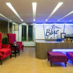 Отель The Blue ресепшен