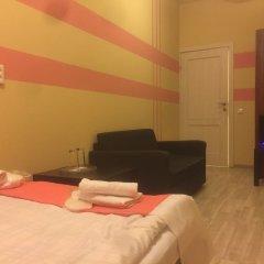 Мини-Отель Компас Номер с общей ванной комнатой с различными типами кроватей (общая ванная комната) фото 35