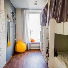 Хостел География Казань Кровать в общем номере двухъярусные кровати