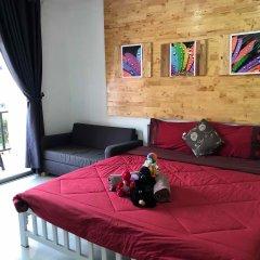Отель Preaw whaan Kohlarn 2* Стандартный номер с различными типами кроватей фото 2