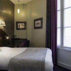Отель Hôtel de Neuve Le Marais by Happyculture 3* Стандартный номер с различными типами кроватей