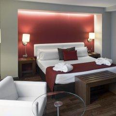 Отель Catalonia Ramblas 4* Улучшенный номер с различными типами кроватей фото 9