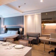 Отель Jasmine City 4* Студия Делюкс с двуспальной кроватью