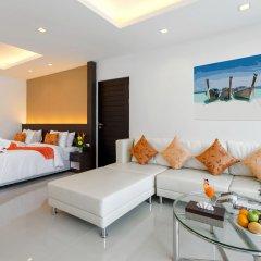 Отель Patong Bay Hill Resort 4* Люкс с различными типами кроватей фото 5