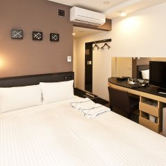 Отель Sotetsu Fresa Inn Nihombashi-Ningyocho 3* Стандартный номер с различными типами кроватей