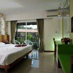 Отель Baan Karon Resort 3* Стандартный номер с различными типами кроватей фото 2