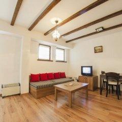 Апартаменты Green Life Family Apartments Pamporovo Студия с различными типами кроватей