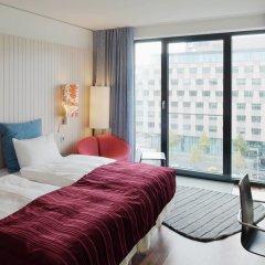 Отель Scandic Berlin Potsdamer Platz 4* Улучшенный номер с разными типами кроватей фото 2