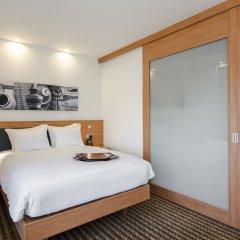 Отель Hampton by Hilton Amsterdam Airport Schiphol 3* Стандартный номер с различными типами кроватей