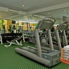 Отель Courtyard By Marriott Cancun Airport фитнесс-зал