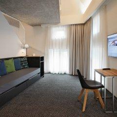 Отель Hôtel Van Belle 3* Номер категории Премиум с двуспальной кроватью