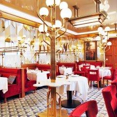 Отель Hôtel Restaurant Au Bœuf Couronné обед
