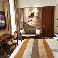 Отель Palais Hansen Kempinski Vienna 5* Номер Делюкс с двуспальной кроватью