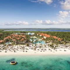 Отель Dreams Palm Beach Punta Cana - Luxury All Inclusive Доминикана, Пунта Кана - отзывы, цены и фото номеров - забронировать отель Dreams Palm Beach Punta Cana - Luxury All Inclusive онлайн пляж фото 2