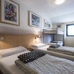 Villa Saint Exupéry Beach - Hostel Кровать в общем номере с двухъярусной кроватью