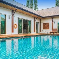 Отель Two Villas Holiday Oriental Style Layan Beach комната для гостей фото 11