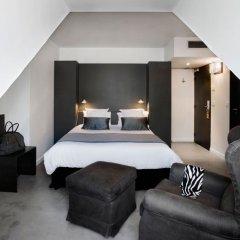 Hotel Pulitzer Paris 4* Улучшенный номер с двуспальной кроватью