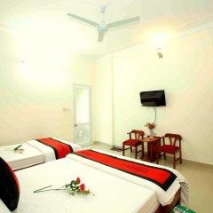 Отель Hoa Thien Homestay Номер Делюкс с различными типами кроватей