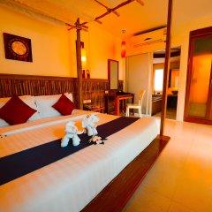 Отель Railay Bay Resort and Spa 4* Коттедж Делюкс с различными типами кроватей